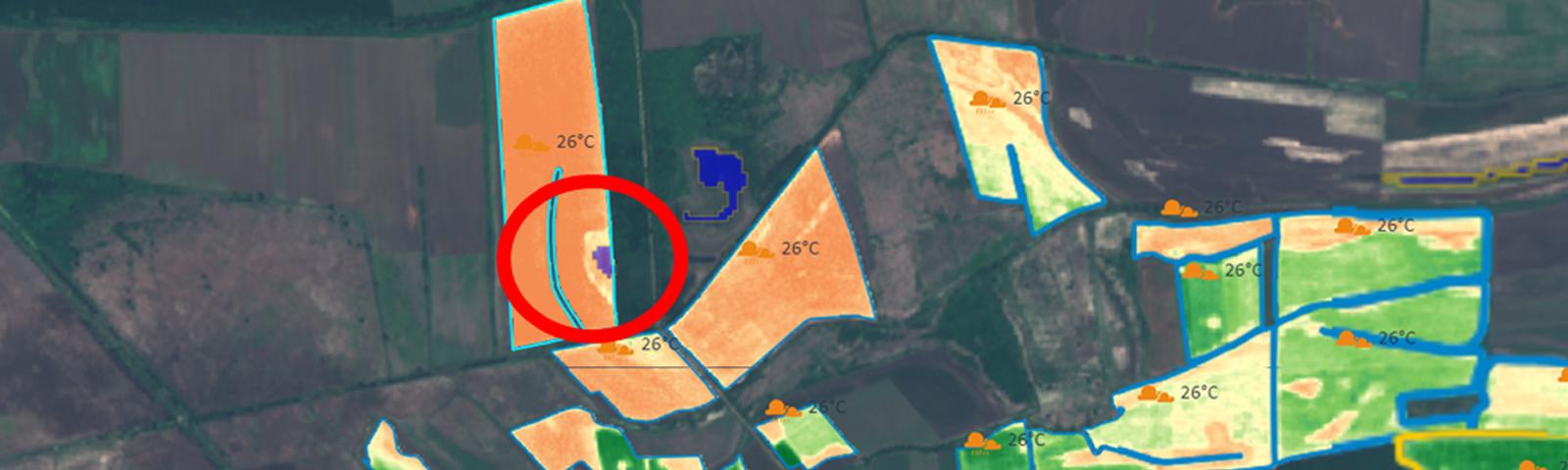 Вижте къде в полето ви се задържа вода с помощта на GeoSCAN