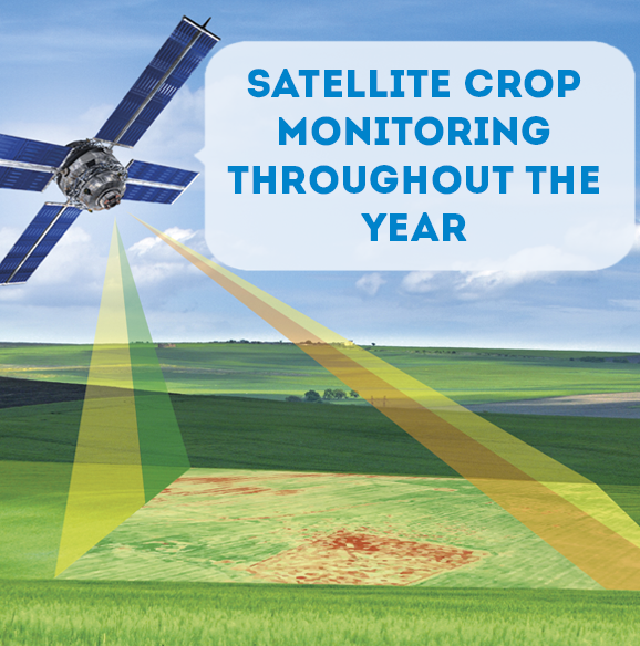 geoscan crop monitoring throughout the year