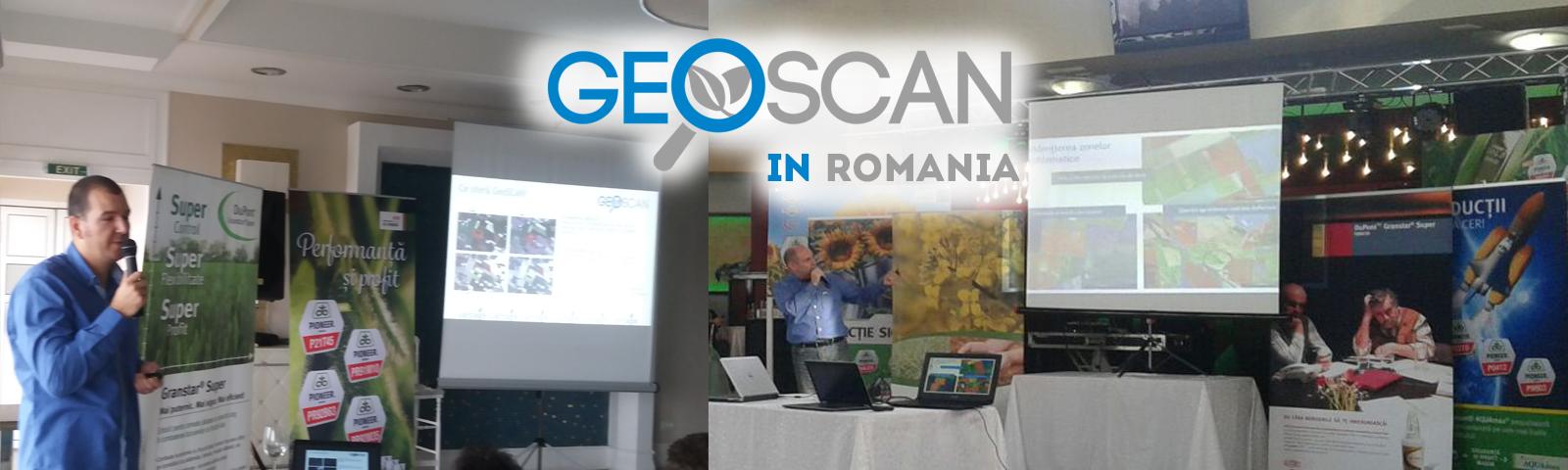 GeoSCAN on Pioneer Tour 12-19.01.17 in Romania