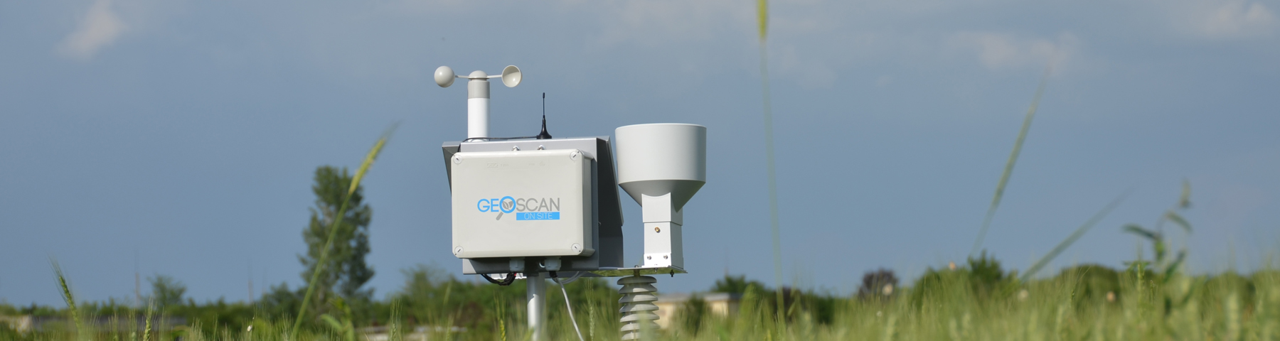 GeoSCAN ONSITE – метеоданни и сателитни снимки